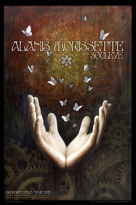 Alanis Morissette Poster, The Paramount Theatre 2012 (charity auction)