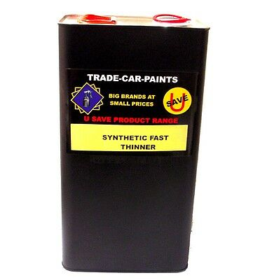Car Paint Trade Synthetic Universal Thinners Fast Air Dry 5Lt