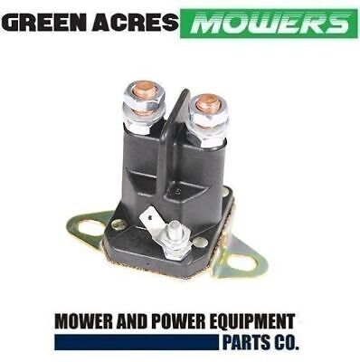 Ride On Mower Starter Solenoid Universal 3 Terminal 12 Volt Bottom Mount