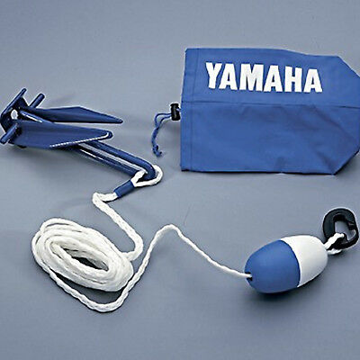 Yamaha Watercraft/Sport Boat/PWC Compact Stowable Anchor,Rope,Float Kit Danforth
