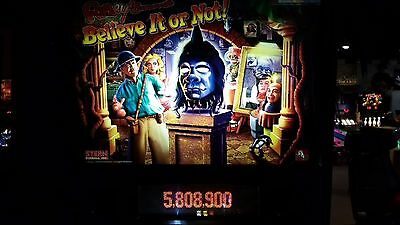 RIPLEY'S BELIEVE IT OR NOT Pinball Machine - Stern 2003 - Impressive!