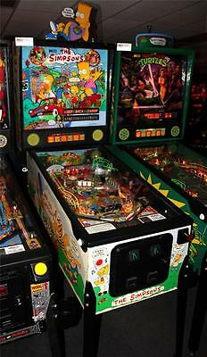 THE SIMPSONS Pinball Machine - Data East 1990 - Looks Great, Plays Great!