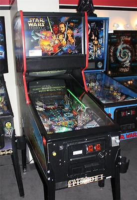 STAR WARS EPISODE I Pinball Machine - Williams 1999 - Pinball 2000!