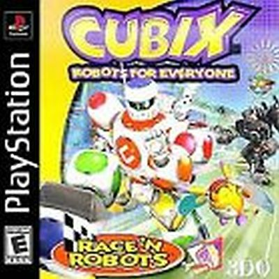 Cubix Robots for Everyone Race N Robots NEW factory sealed Playstation 1 PSX PS1