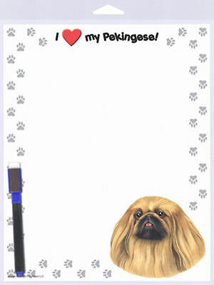 Pekingese Dog Memo Board Magnetic Sign 8×10