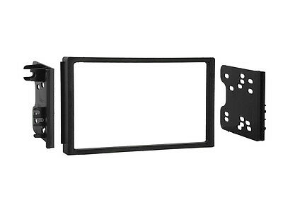 CT23CV05 CHEVROLET LACETTI 2002 to 2008 DOUBLE DIN BLACK FASCIA FACIA ADAPTOR