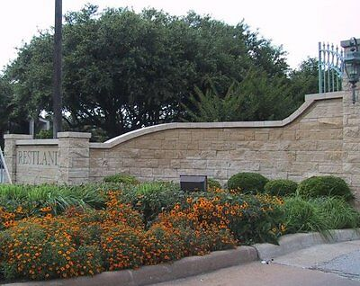 Three beautiful tree filled funeral plots in Restland Cemetery in Dallas Texas