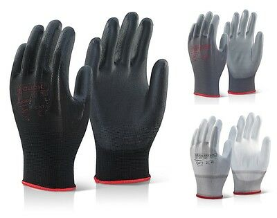 Click 2000 PUG - PU Coated Precison Gloves - All sizes & colours