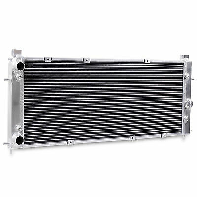 Twin Core Alloy Radiator Rad For Vw Volkswagen Transporter T4 1.9 2.0 2.4 2.5