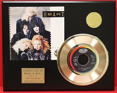 """Heart Gold 45 Free Shipping """"alone """" Ltd Edition Unique Music Gift"""