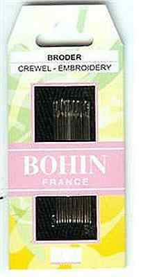 Bohin Embroidery/Crewel Stitching Needles