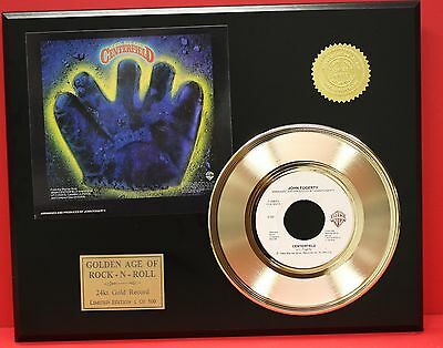 John Forgerty - Centerfield - 24k Gold Record Display - Free USA Shipping