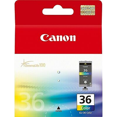 Canon CLI-36 Ink Cartridge - Cyan/Magenta/Yellow, 12ml (Yield 249 Pages)