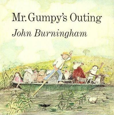 Mr. Gumpy's Outing by John Burningham (English) Hardcover Book Free Shipping!