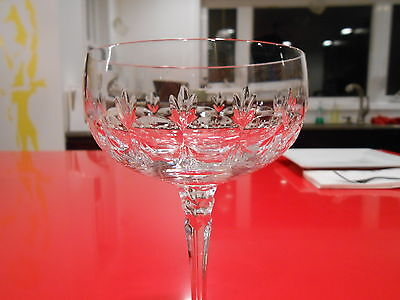 """towle crystal marquis patern champagne 6 1/4"""" by 3 3/4"""" discontinued"""