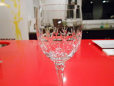 """towle crystal marquis patern wine goblet 7 1/2"""" by 2 3/4"""" discontinued"""