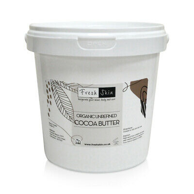 1kg Organic Cocoa Butter (1000g)