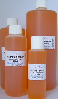 Organic Rosehip oil - 110mL - 100% Pure oil - BEST VALUE ON E-BAY