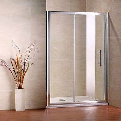 1400x1850mm Sliding Glass Door Shower Enclosure