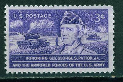 US WW2 Armored Forces Gen.George Patton tanks stamp MNH