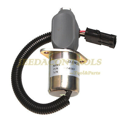 New Shutoff Solenoid 6681513 Fits Yanmar Cummins Synchro Start Engine