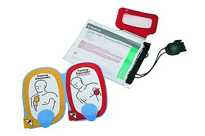 5x Physio Control Trainingselektroden mit Verpackung f. AED Trainer Lifepak CR-T