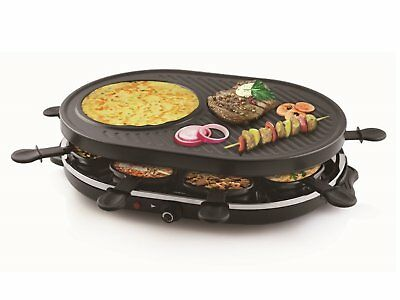 Raclette Grill Gourmet Raclette Party Grill Set for 8 persons