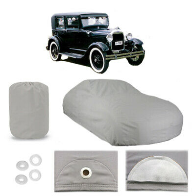 Ford Model A Coupe 4 Layer Car Cover Fit Outdoor Water Proof Rain Snow Sun Dust