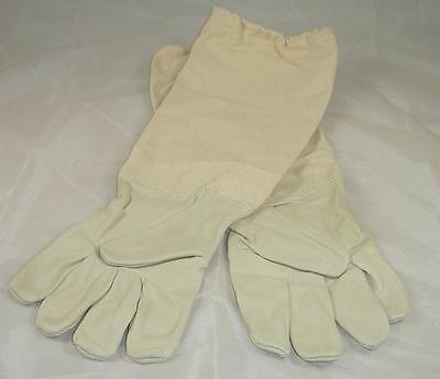 Beekeeping Gloves (Extra-Large Xl) - Leather - Beehive - Hive Clothing
