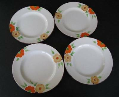 Swinnertons Retro Floral Side Plates - Set of Four