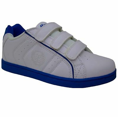 Boys White Trainers School Pe Pumps Casual Party Smart Running Shoes