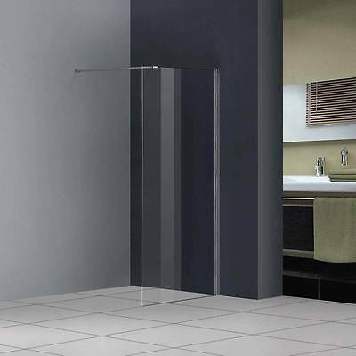 1200x1850mm Walk In Wet Room Shower Enclosure Glass Cubicle Screen Door Panel