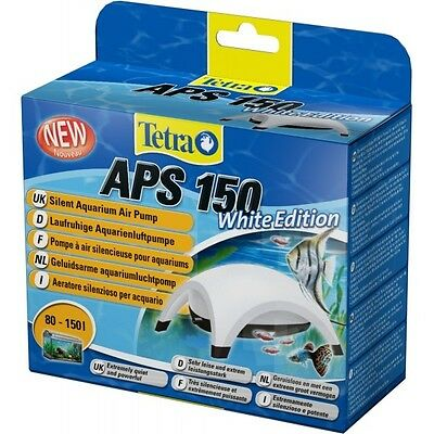 Tetra Tec Pompe A Air Aps 150 White Edition + Kit D'aeration
