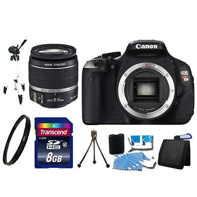 USA Canon EOS Rebel T3 1100D + 18-55mm IS II Lens 8GB + DSLR Camera Kit NEW