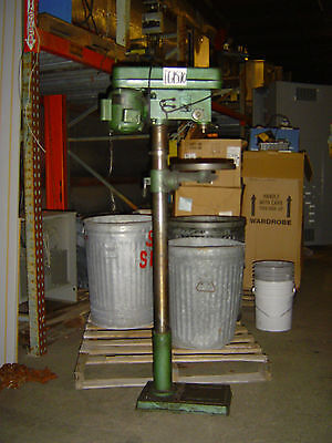 IMS 16 Speed Floor Drill Press 110 Volts 12.5 Amps 60 Hz 1 Phase 1720 RPM CG1570
