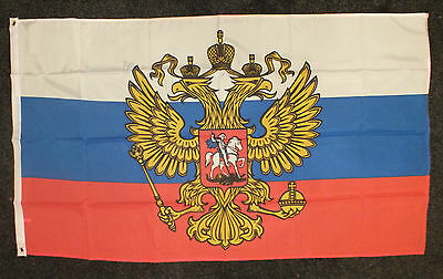 Russian Federal Imperial Flag Orthodoxy Christian Eagle Moscow Political Russia
