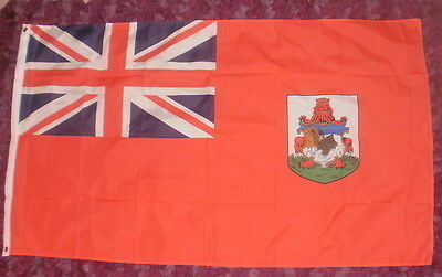 Bermuda Flag. British Commonwealth Caribbean Triangle Cruise Tourism Hamilton bn