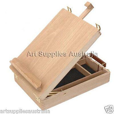 Table Box Easel,Varnished Beechwood & Premium Quality LHBX-11