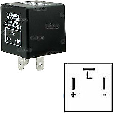 New Led Flasher Unit Relay Indicators 24V For Led Light Turn Signal 3 Pin 160953