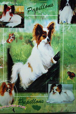 Papillon Dog Gift Present Wrap
