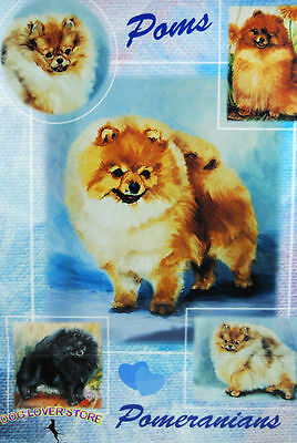 Pomeranian Gift Wrapping Paper