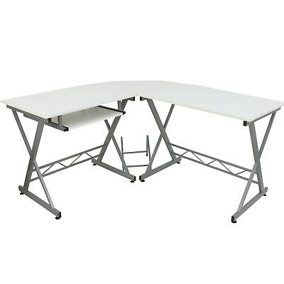 Office Computer Desk Executive Home Furniture Table Laptop Workstation L-Shape