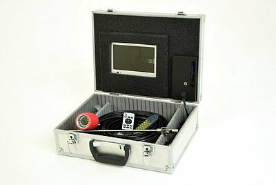25m RECORDABLE Chimney Inspection Camera with Infra-Red (IR) LED's - VAT Invoice