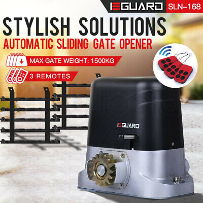Automatic Electric Sliding Gate Opener Remote Heavy Duty 1800Kg
