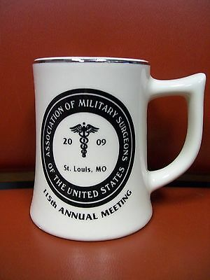 Association Of Military Surgeons 2009 Mug / Cup - St. Louis Mo - 115Th Meeting