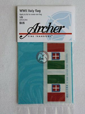 Archer 1/35 Italian Flag WWII Kingdom of Italy Regno d'Italia 1861–1946 AR35284