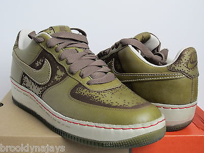 """2006 NIKE AIR FORCE 1 LOW INSIDE OUT ONE PIECE """"PILGRIM"""" 312491331 SZ 11.5 qs"""