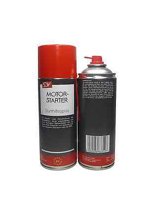 Starthilfe Spray MOTORSTARTER 6x 400ml Startpilot Starterspray Kalt Start Spray