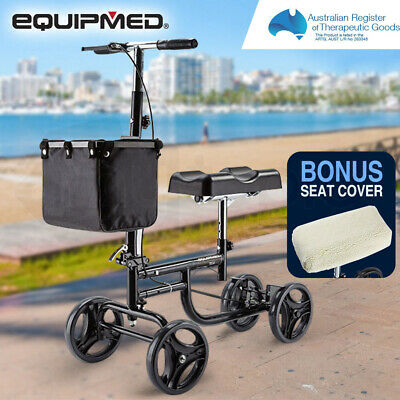 【UP TO 20%OFF】EQUIPMED Knee Walker Scooter Mobility Alternative Crutches
