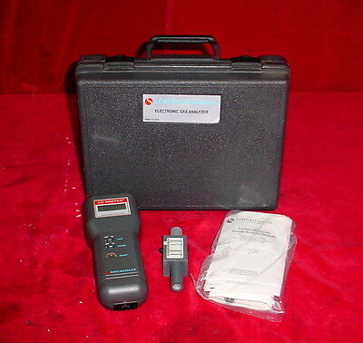 Scott / Bacharach Electronic Gas Analyzer CO Sniffer 19-7081 19-7082